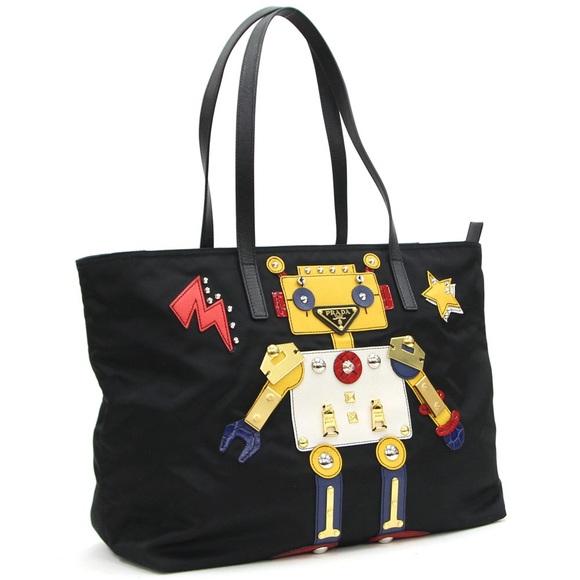 31aa5584d243 Prada nylon robot shoulder bag. M_5c842a31bb7615b48d584e03